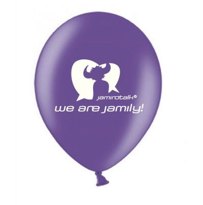 Watch out for ballons at the next gigs... Jamily ballons coming soon! :heart_eyes: